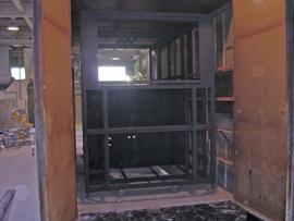 焼付、樹脂塗料の大和塗装_焼付炉