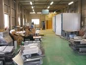 工場内焼付設備